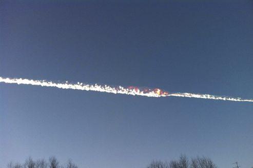 Une pluie de météores s'abat sur la Russie