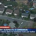 Une femme âgée tuée par balle à Longueuil
