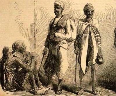 Thugs Thags Inde : Secte de Kali