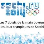 """""""Les 7 doigts de la main"""" seront présents pour l'ouverture des Jeux olympiques à Sotchi"""