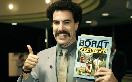 L'hymne Borat aux Jeux olympiques pour le Kazakhstan
