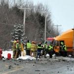 Saint-Agapit : Un mort suite à une grave collision sur la route 273