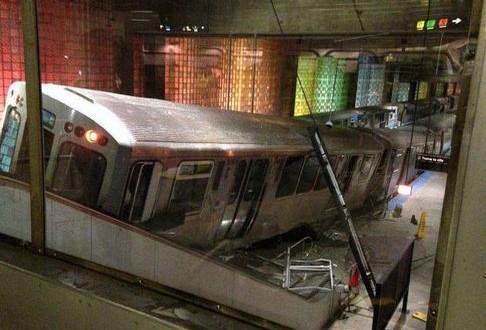 Etats-Unis – Chicago : Le déraillement d'un train fait une trentaine de blessés