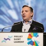 François Legault s'adresse aux contribuables et remet en question les projets de Québec