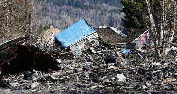 Glissement de terrain aux Etats-Unis : 14 morts et plus d'une centaine de disparus