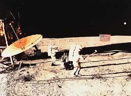 Alan Shepard a joué du golf sur la Lune