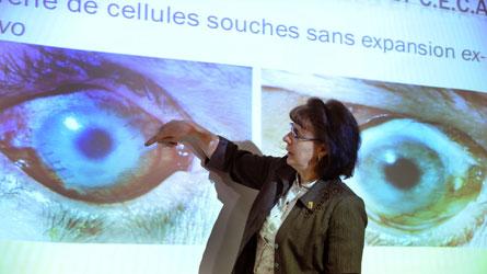 Greffes de cornées : Une première au Canada grâce à la culture en laboratoire du CHU de Québec