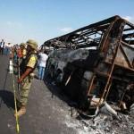 Collision mortelle au Mexique : Une trentaine de personnes décédées