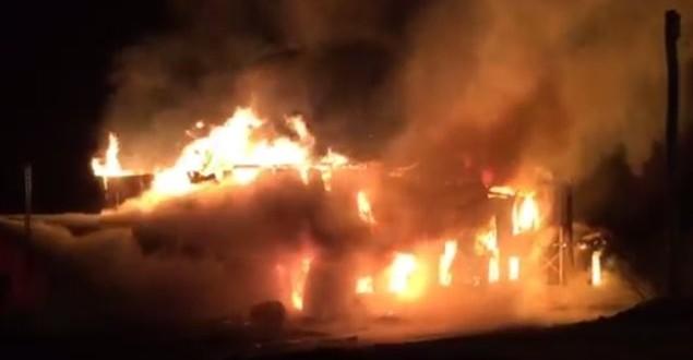 Saint-Paul-de-la-Croix – Une ferme victime des flammes : La perte de 75 vaches