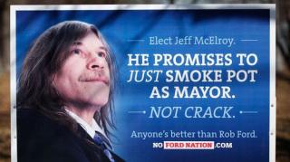 Rob Ford : Le maire de Toronto raillé suite à des affiches de campagne