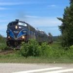 Train touristique Orford Express : La saison 2014 annulée à cause d'un incendie