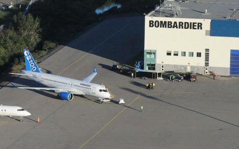 Alerte à la bombe à l'usine de Bombardier Aéronautique de Mirabel