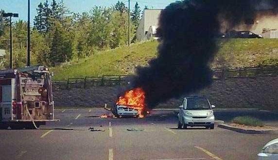 Explosion d'un véhicule à Magog : Un homme d'une soixantaine d'années grièvement blessé