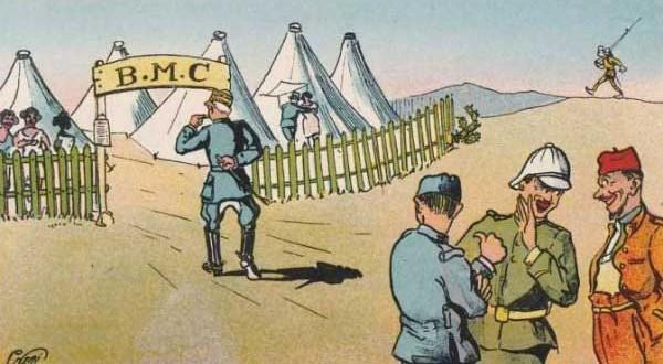 Le Bordel militaire de campagne ferma en 1995