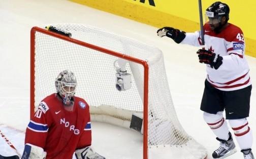 Le Canada s'assure la tête du groupe A au Championnat du monde de hockey