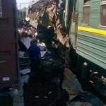 Russie : Collision mortelle entre un train de marchandises et un train de passagers