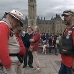 Anciens Combattants : Une manifestation sur la Colline parlementaire à Ottawa