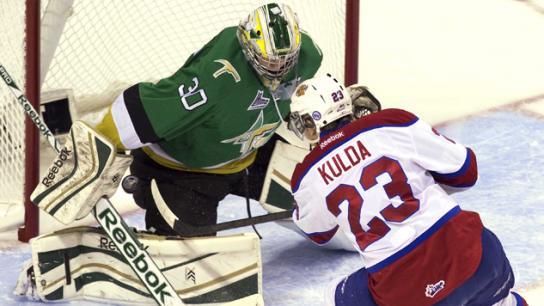 Antoine Bibeau : Le jeune gardien signe avec les Maple Leafs de Toronto