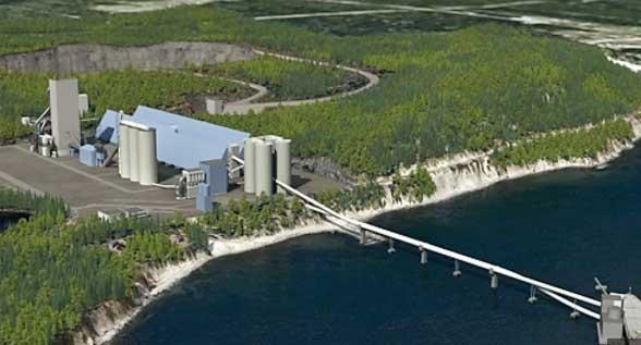 Cimenterie de Port-Daniel : Québec appuiera le projet et ses 450 millions de dollars d'investissement