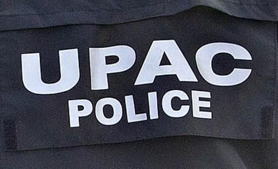 L'UPAC a procédé à l'arrestation d'un fonctionnaire de la Sécurité publique et un homme d'affaires