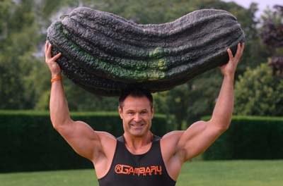 Le plus gros cornichon du monde pèse 54 kilos
