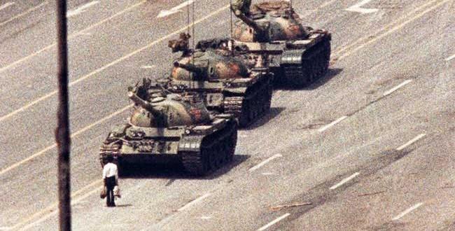 L'identité de tank man de Tian'anmen reste toujours inconnue