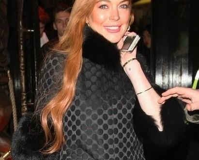 Lindsay Lohan : Elle courait nue au sein du grand magasin Selfridges à Londres