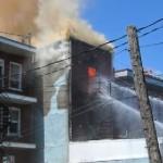 Montréal Quartier Villeray Un violent incendie enregistré dans un immeuble de trois étages