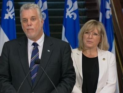 Philippe Couillard annonce un forum pour la lutte contre l'intimidation