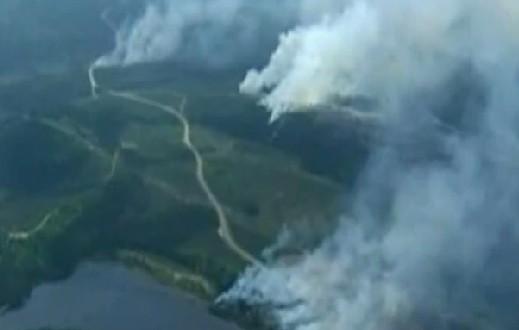 Un incendie déclaré près de Kuujjuaq : Deux avions-citernes dépêchés par la SOPFEU