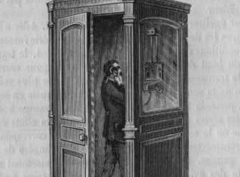 Le premier téléphone public a été installé à Hartford