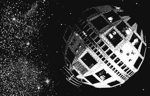 Le satellite Telstar envoyé le 10 juillet 1962 dans l'espace