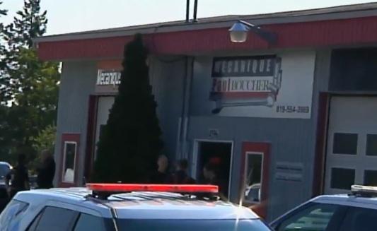 Rock Forest : Un jeune homme de 18 ans décède écrasé par un véhicule au sein du garage Mécanique Paul Boucher