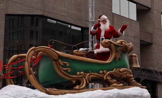 Le Père Noël au centre-ville de Montréal : La magie des fêtes est lancée