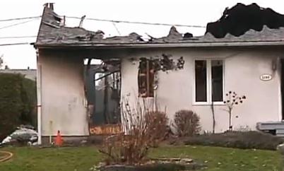 Un incendie à Drummondville a fait un mort et un blessé grave : Possibilité d'un drame conjugal