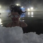 Hair freezing contest : Le concours des cheveux gelés