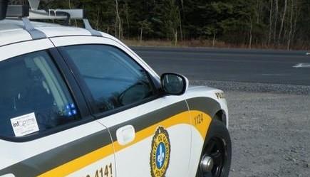 Une forte présence policière tout au long des routes à l'occasion de ce long congé