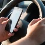 Importante opération policière contre l'utilisation du téléphone cellulaire au volant