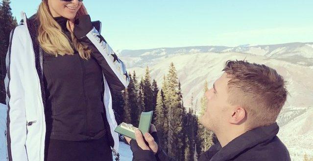 Paris Hilton s'est fiancée avec Chris Zylka à Aspen