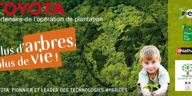 Événements de plantation d'arbres 2012 « Plus d'arbres, plus de vie ! »