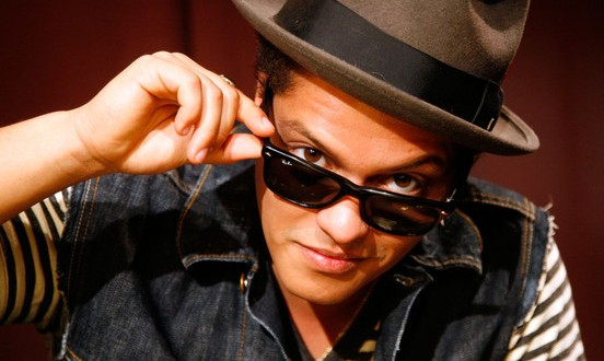 Bruno Mars : Tournée au Canada en juillet