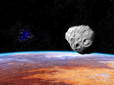 Un astéroïde frôlera la terre ce vendredi