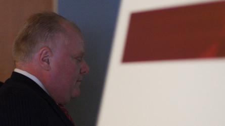 Rob Ford ignoré par Labeaume et Coderre au caucus des maires des grandes villes