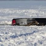 Saint-Laurent : Une camionnette s'enfonce dans le fleuve