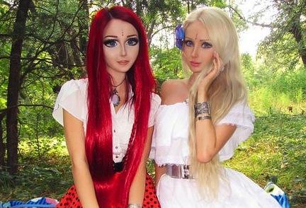 Valeria Lukyanova « Barbie vivante »
