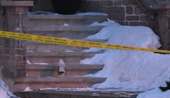 Brossard : Un bidon suspect déposé devant la demeure de Tyronne Candappa