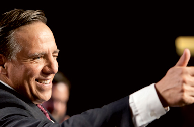 François Legault – Débat des chefs : Confiant pour la suite de la campagne