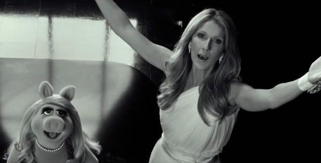 Miss Piggy et Céline Dion : De nouveau ensemble pour la sortie du film « Muppets Most Wanted »
