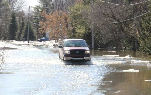 Environnement Canada : Les précipitations de pluie sont plus à surveiller