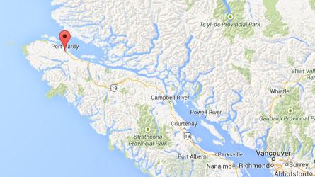 L'île de Vancouver : Un séisme d'une magnitude 6,6 a été enregistré
